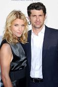 Jill Fink and Patrick Dempsey at The Sixth Annual Chrysalis Butterfly Ball. The Home of Susan Harris