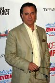 Andy Garcia at the CineVegas Opening Night Premiere Of