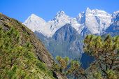 image of leaping  - Scenery of Tiger Leaping Gorge - JPG