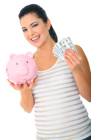 pic of save money  - save money concept - JPG