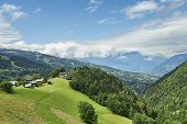 foto of nice house  - Nice Houses On Top Of Alpine Hill - JPG
