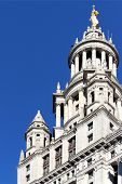 stock photo of municipal  - The NYC Municipal City Hall Building center of city operations of New York City United States of America - JPG