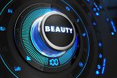 picture of irresistible  - Beauty Controller on Black Control Console with Blue Backlight - JPG