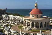 image of cemetery  - SAN JUAN PUERTO RICO  - JPG