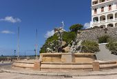 picture of fountains  - SAN JUAN PUERTO RICO  - JPG