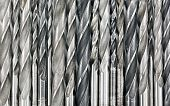 stock photo of drill bit  - Various used metal drill bits pattern background - JPG