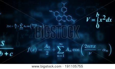 Glowing Mathematical Physical And Chemical