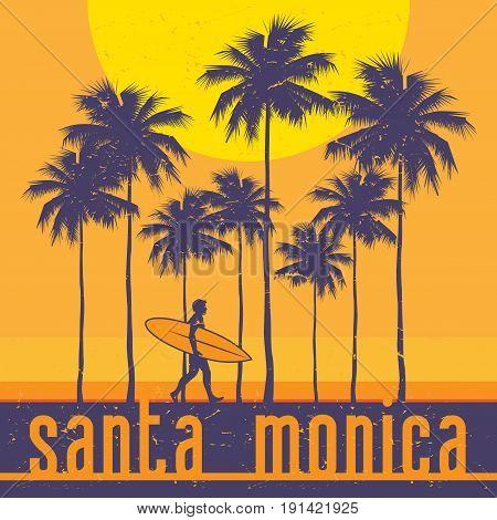 California coast Santa