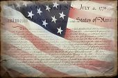 picture of preamble  - United States Declaration of Independence - JPG