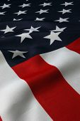 American Flag background for Clip-Art