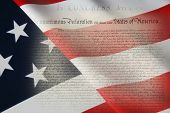image of preamble  - United States Declaration of Independence - JPG
