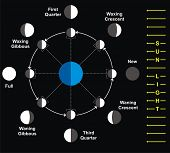 pic of wane  - Moon Phases - JPG