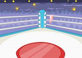 picture of bleachers  - Boxing Ring - JPG