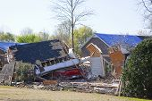 Tornado Destroyed Home