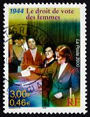 Postage Stamp France 2000 Women's Suffrage, 1944