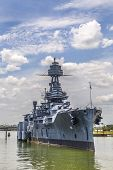 pic of bayou  - The Famous historic Dreadnought Battleship in Texas - JPG