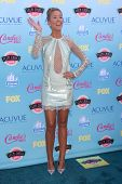 LOS ANGELES - AUG 11:  Anna Camp at the 2013 Teen Choice Awards at the Gibson Ampitheater Universal