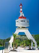 picture of zea  - dock and crane - JPG