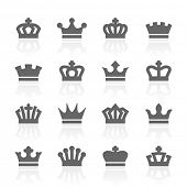 stock photo of monarch  - crowns - JPG