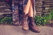 pic of woman boots  - Woman - JPG