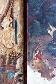 stock photo of mural  - BANGKOK THAILAND  - JPG