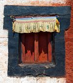 Historic Window From Namgyal Tsemo Gompa - Leh - Ladakh - India
