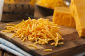 Organic Shredded Sharp Cheddar Cheese