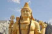 stock photo of shiva  - Shiva temple located in Bangalore - JPG