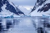 stock photo of south-pole  - Landscape of ice - JPG