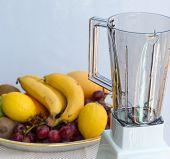 stock photo of fruit shake  - Fruit Smoothie Indicating Liquidiser Shake And Juicy - JPG