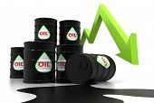 """image of stock market crash  - """"oil Market Crash"""", can be used in business, personal, charitable and educational design projects: it may be used in web design, printed media, advertising, book covers and pages, music artwork, software applications and much more. - JPG"""
