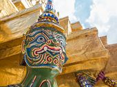 picture of emerald  - Grand Palace and Temple of Emerald Buddha complex in Bangkok - JPG