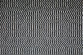image of distort  - Black and White Television Screen with Static Distortion