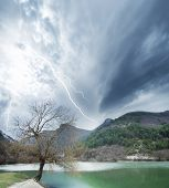 stock photo of shock awe  - a beautiful and diverse nature of the Crimea - JPG