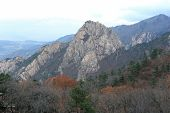 picture of seoraksan  - Seoraksan National Park in autumn South Korea - JPG