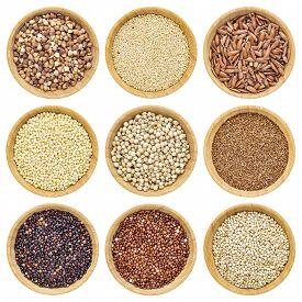 image of millet  - gluten free grains   - JPG