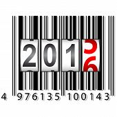 picture of barcode  - 2016 New Year counter - JPG
