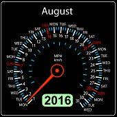 pic of speedometer  - 2016 year calendar speedometer car - JPG