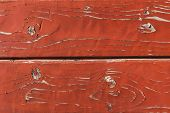 pic of marsala  - Textured old wall marsala color wooden plank - JPG