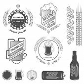 picture of brew  - Brewing emblems and design elements - JPG