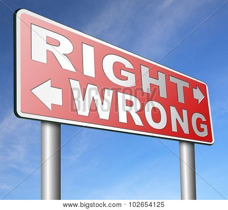 right and wrong essay A simple point of beginning could be the assertion that universal values of (right  & wrong) do exist - in which case, the task is just to find out which values are.