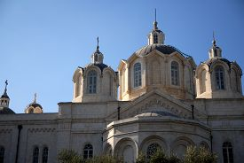 foto of trinity  - The Holy Trinity church in the Russian Compound Jerusalem Israel - JPG