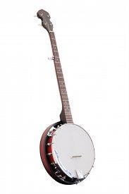 image of banjo  - The image of a banjo - JPG