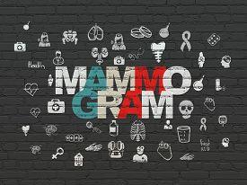 foto of mammogram  - Healthcare concept - JPG
