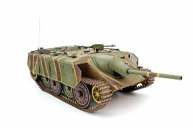 stock photo of panzer  - A scale model of the tank E - JPG