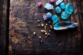 pic of lapis lazuli  - Treasure hunting - JPG