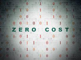 picture of zero  - Business concept - JPG
