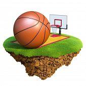 image of ncaa  - Basketball ball - JPG