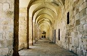 Colonnade in Israel