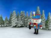 picture of tchaikovsky  - Nutcracker in the forest   - JPG